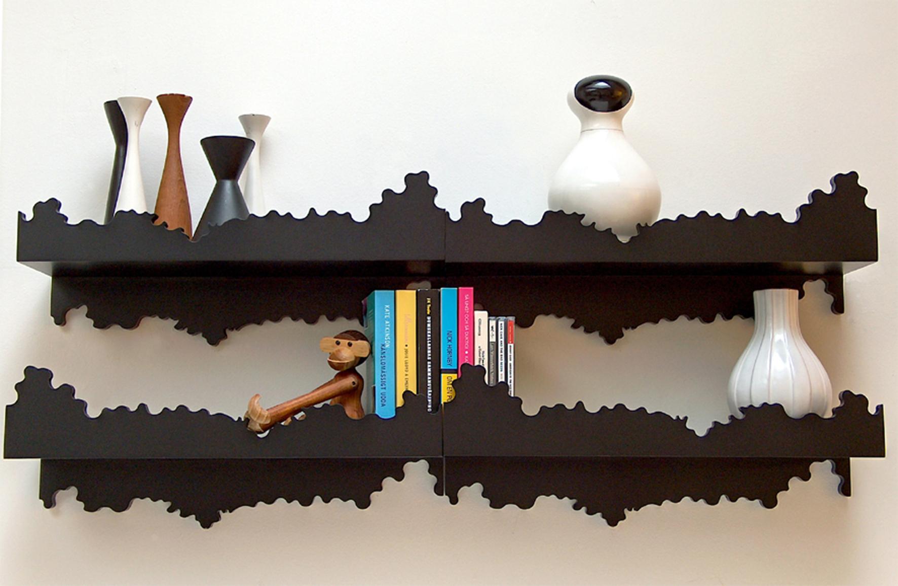 Nero shelf Designista